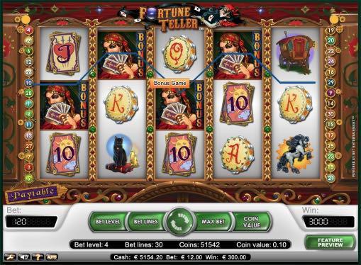 Игровые автоматы играть на деньги - Fortune Teller