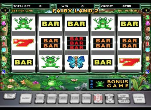 Игровые автоматы на реальные деньги - Fairy Land
