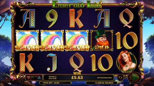 Игровой автомат Emerald Isle на реальные деньги