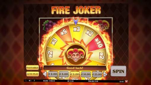 Игровые автоматы на реальные деньги - Fire Joker