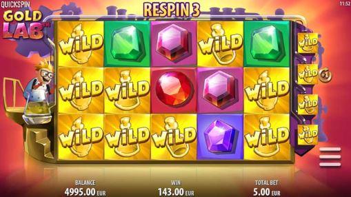 Игровые автоматы онлайн на деньги - Gold Lab