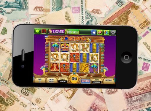 Мобильные онлайн слоты на деньги на рубли