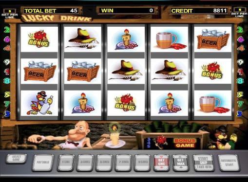 Играть на деньги в игровые автоматы онлайн - Lucky Drink
