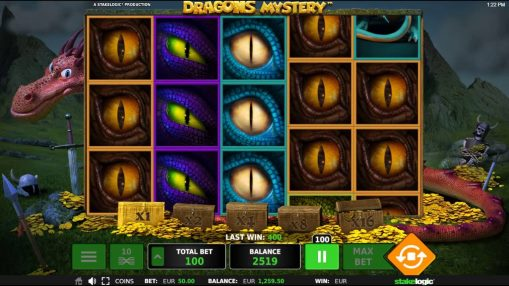 Игровые автоматы на реальные деньги - Dragons Mystery