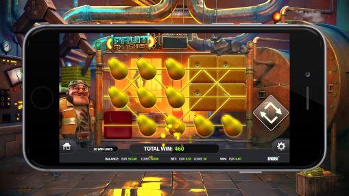 Игровые автоматы онлайн на деньги - Fruit Smasher