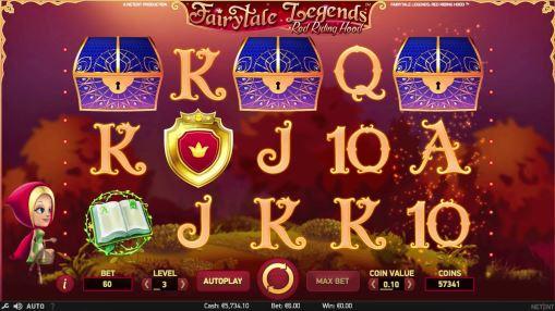 Онлайн автоматы на реальные деньги - Fairytale Legends: Red Riding Hood